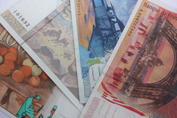 Franc - Billets de banque périmés