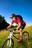 biking man-