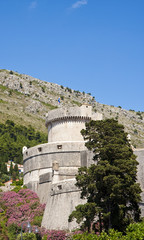 Turret and Walls of Old Dubrovnik