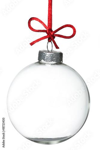 Empty Christmas ornament - 18723430