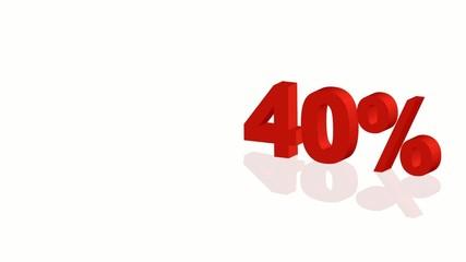 Offerta - 40%