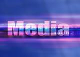 web media design poster