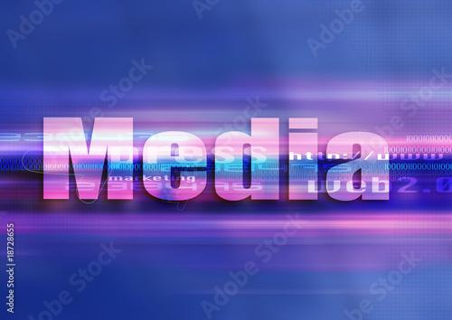 poster of web media design