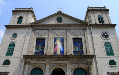 Sé Kathedrale in Macau