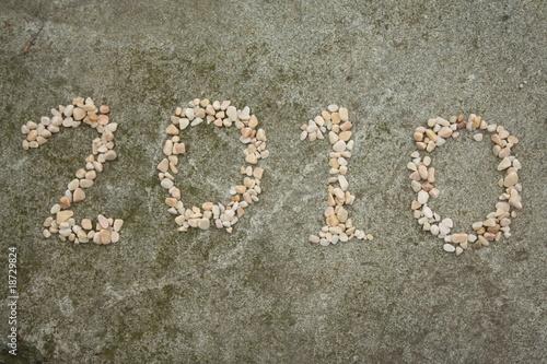 Papiers peints Zen pierres a sable 2010年