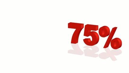 Offerta - 75%