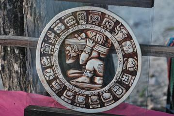 maya Bas-relief