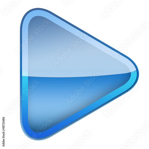 Play Button Gloss Icon