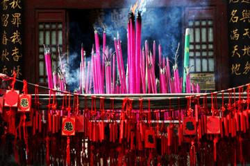 China, Incense (Konfuzius Temple)