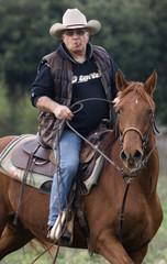 cavalier sur son cheval