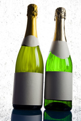 Two bottles of champagne