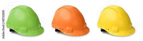 Hard hat color collection