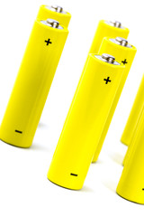 yellow alkaline batteri