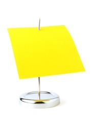 punzón, con hoja amarilla