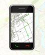 GPS sur un téléphone portable
