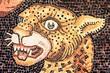 Panthera pardus, Scuola Mosaicisti Spilimbergo, Italia