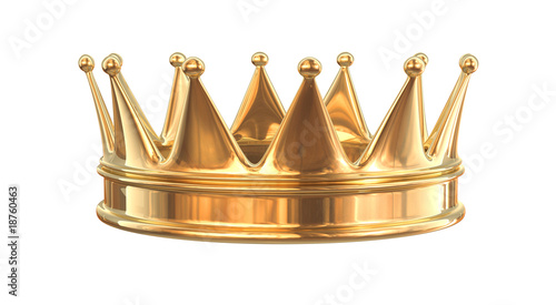 Golden crown - 18760463