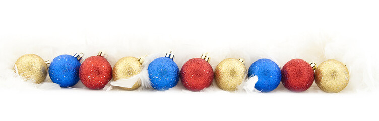 Sparkling Christmas balls