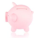 Pink piggy bank 2 poster