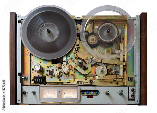 vintage analog recorder