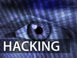 Hacking illustration poster