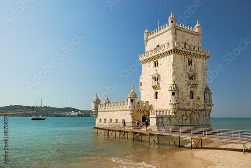 Belem tower in Lisbon - 18780670