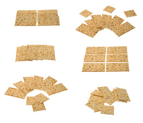 Collection of crackers arragements