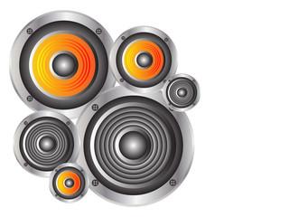Speakers vector illustration
