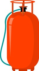 Illustration of a LPG cylinder