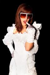 Superficial girl