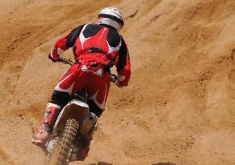 Motocross travel to infinity