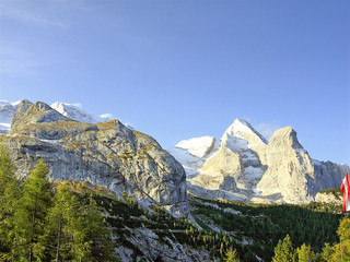 Italy, Dolomites, Marmolada  mountains
