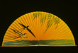 Leinwanddruck Bild - Kranichfächer gelb