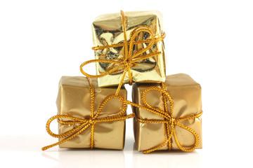 The gold box parcels