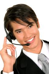 Business man working
