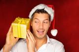 christmas surprise bonus coupon box gift poster