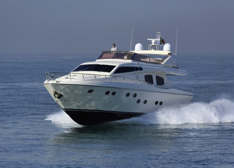 Italy, luxury yacht, Tirrenian sea, Rizzardi Technema 65'