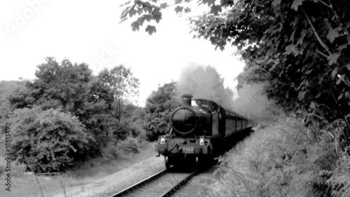 Steam Train in the countryside