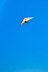 Hang Glider Catching the Wind