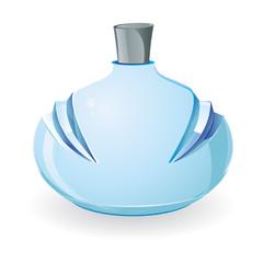 vector parfum bottle