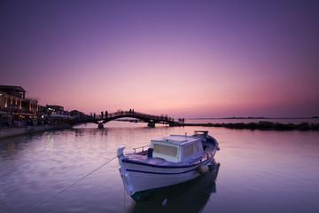 Paseo maritimo de Lefkada