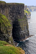 Gripping view of the Cliffs of Moher in Ireland