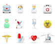 Medical and health care icons. Part 2