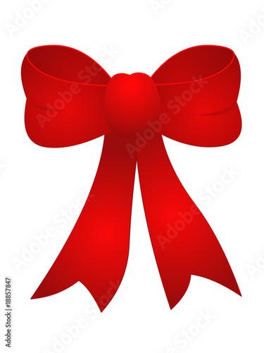 noeud cadeau rouge photo libre de droits sur la banque d 39 images image 18857847. Black Bedroom Furniture Sets. Home Design Ideas