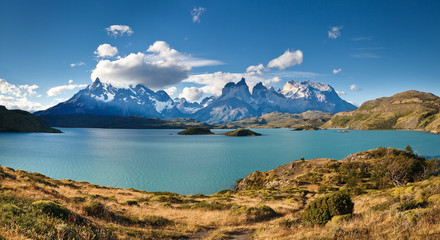 Torres del Paine National Park - Lake Pehoe & Los Cuernos