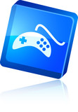 Gamepad  icon. poster