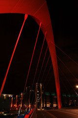 Clyde arch at night