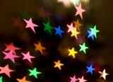 Vibrant Stars Background poster