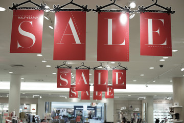 Sale at the mall