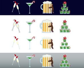 New Year booze
